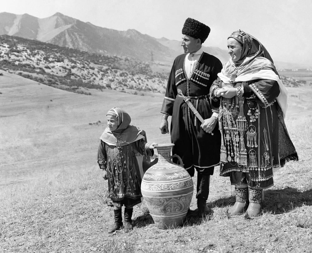 Лакцы - представители одной из малых народностей Дагестанской АССР, 1979 год