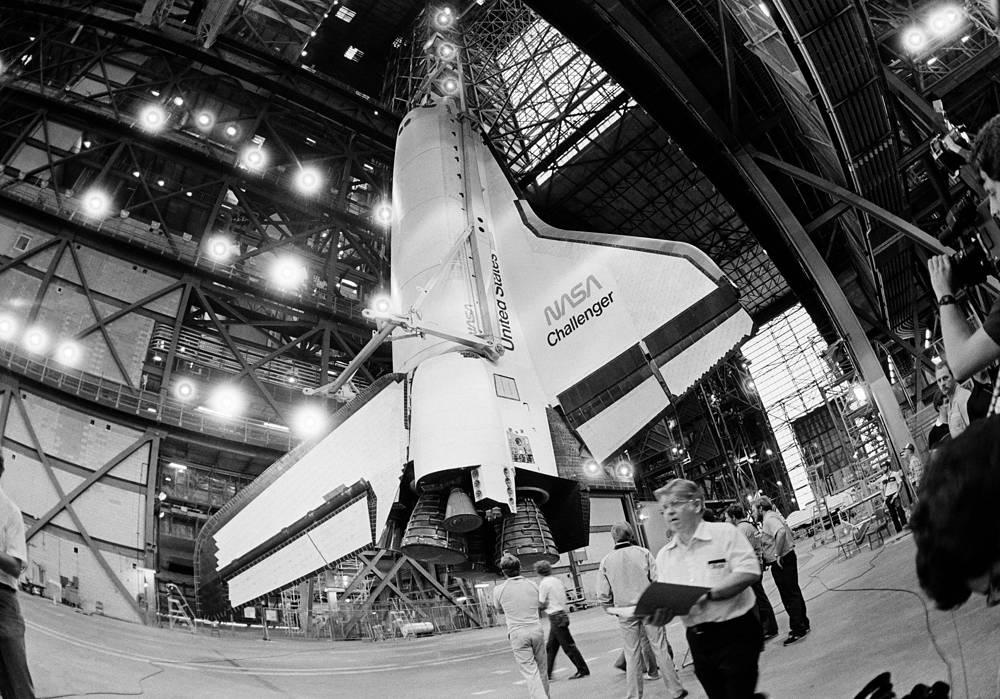 Шаттл Challenger, 10 апреля 1985 года