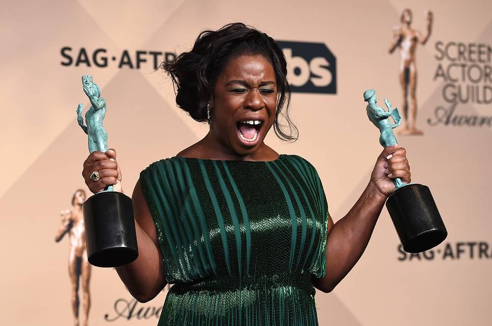 """В категории """"Лучшая актриса в комедийном сериале"""" победу одержала Узо Адуба, сыгравшая в многосерийном шоу """"Оранжевый - хит сезона"""""""