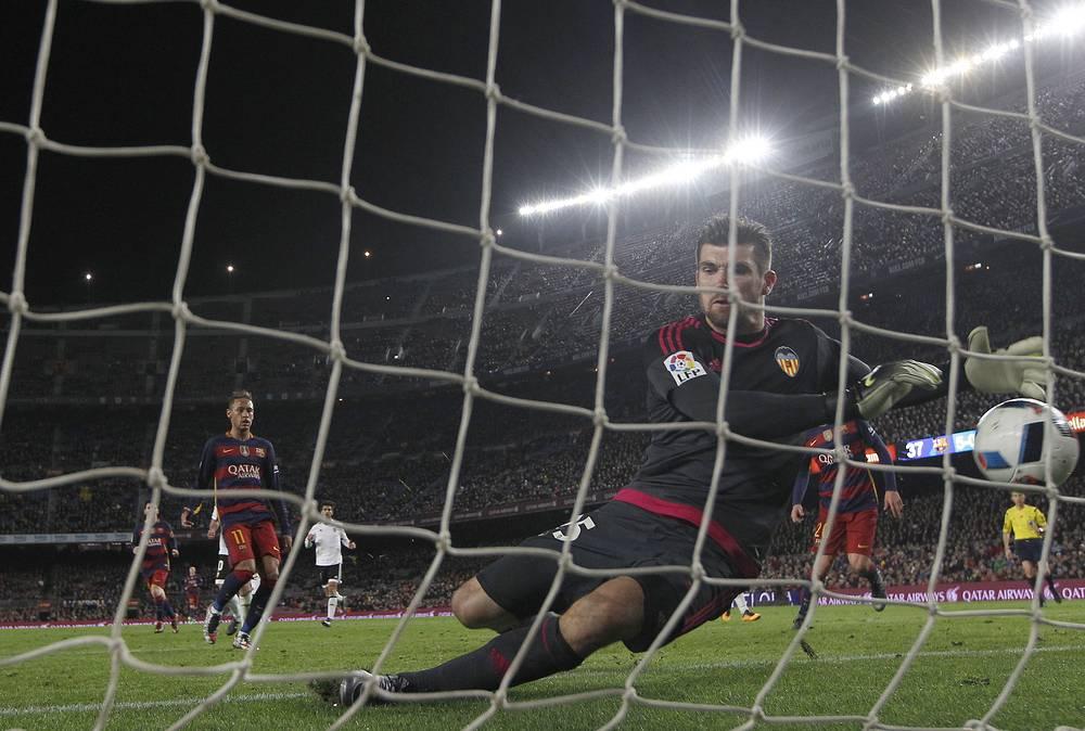Страж ворот валенсийцев стал одним из антигероев полуфинальной встречи Кубка Испании