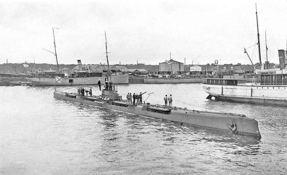 "Подводная лодка ""Тигр"" типа ""Барс"". Флот Балтийского моря"