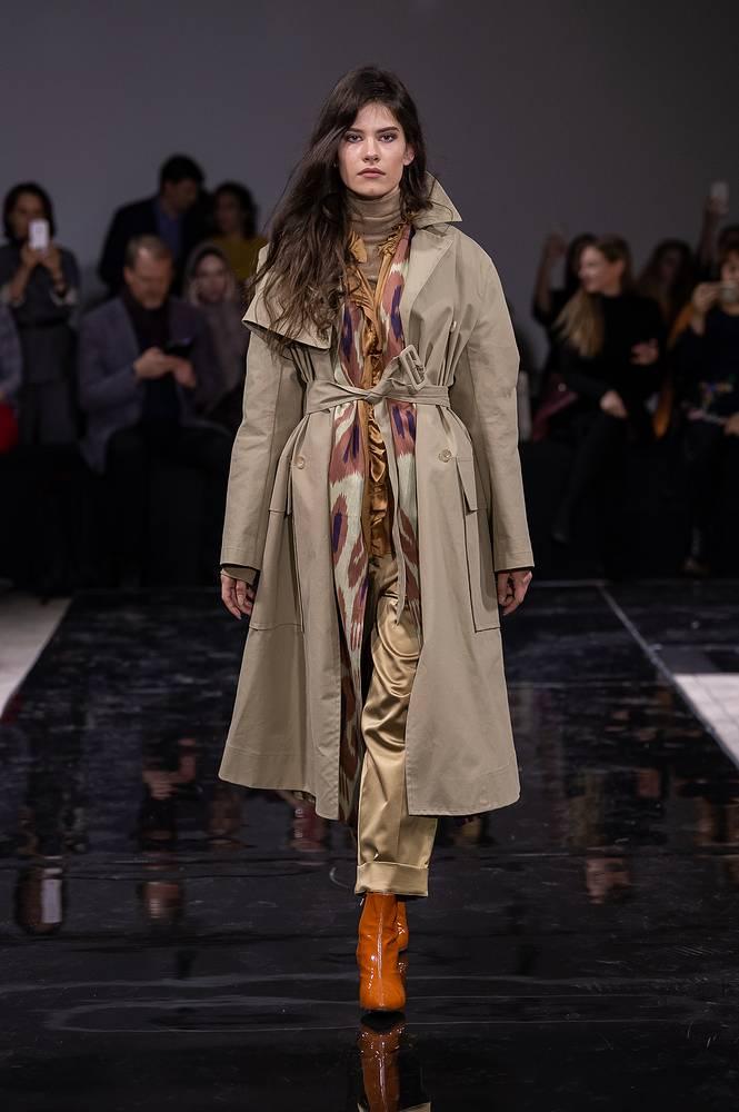 Показ Russian modest fashion week