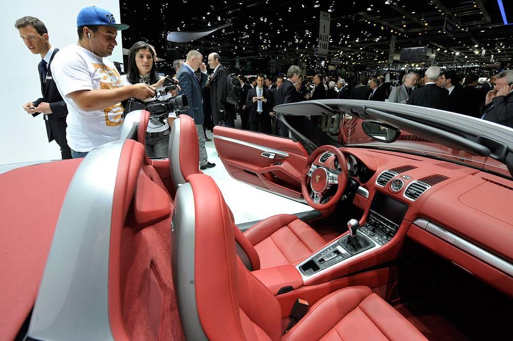Кабриолет Porsche Boxster