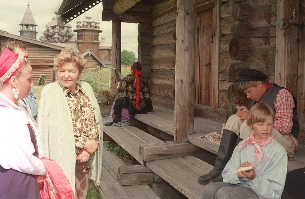 На острове Кижи. 1997 год