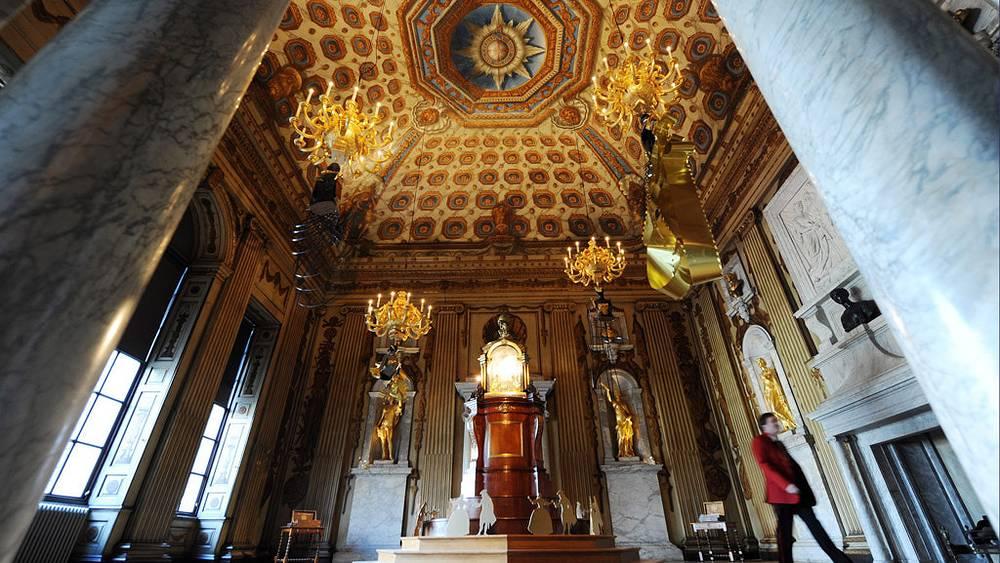 Внутреннее убранство Кенсингтонского дворца