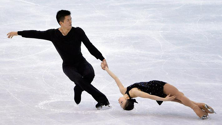 Японцы Наруми Такахаси и Мервин Тран. Фото EPA/ИТАР-ТАСС
