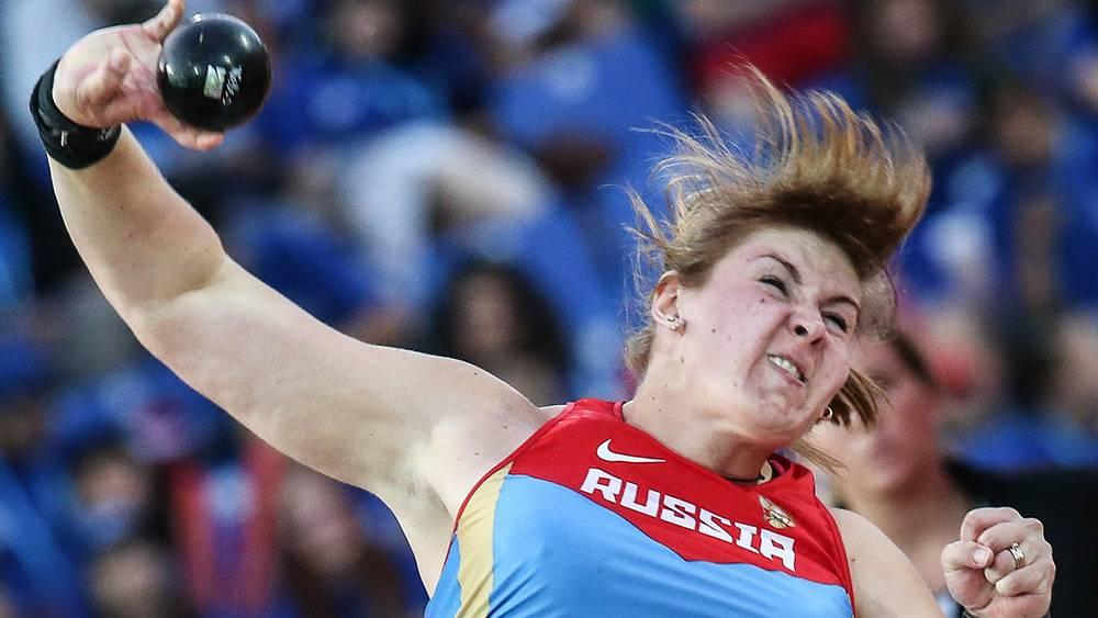 Российская спортсменка Ирина Тарасова