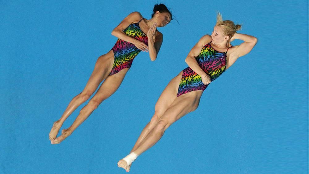 Российские спортсменки Диана Чаплиева и Мария Смирнова