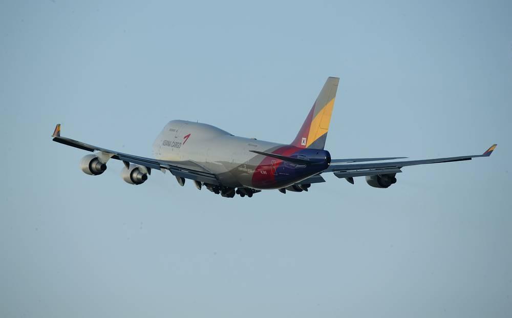 Boeing 747 Asiana Cargo HL-7415