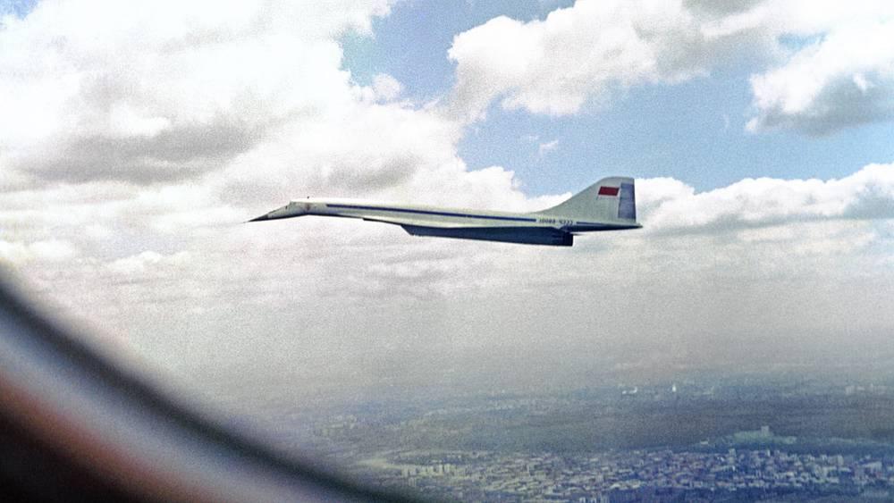 Сверхзвуковой самолет ТУ-144, 1970 год