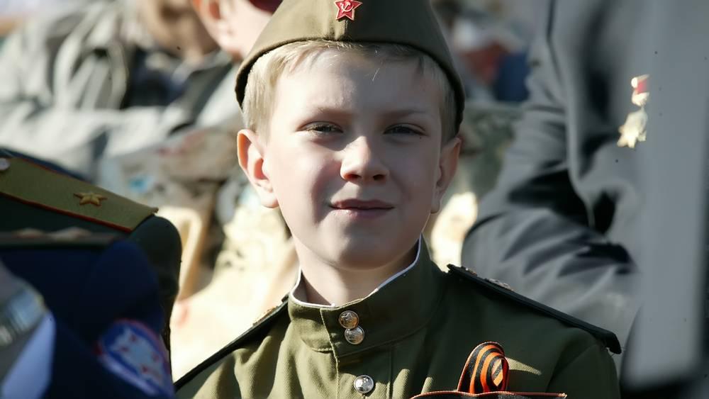 На трибуне Парада Победы