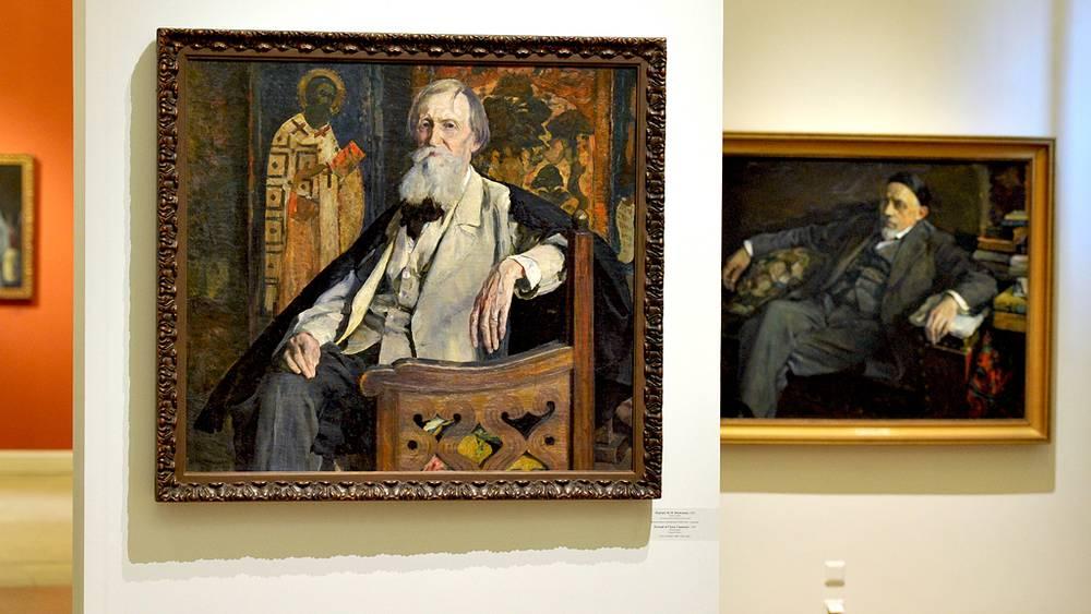 Портрет Виктора Васнецова. 1926 г