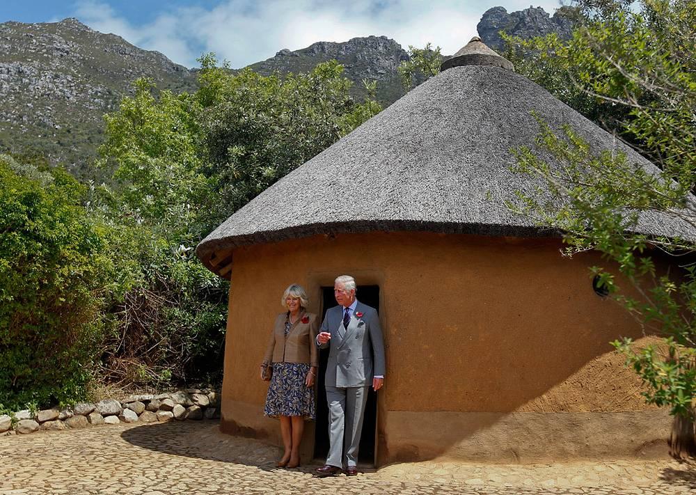 С супругом в Южной Африке. Ботанический сад в Кейптауне