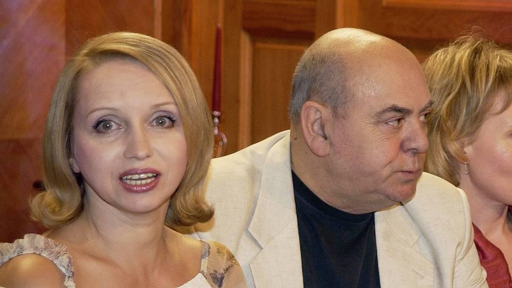 Актеры Ирина Мазуркевич и Анатолий Равикович, 2005 год