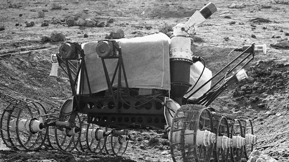 "Испытания аппарата ""Луноход-1"""