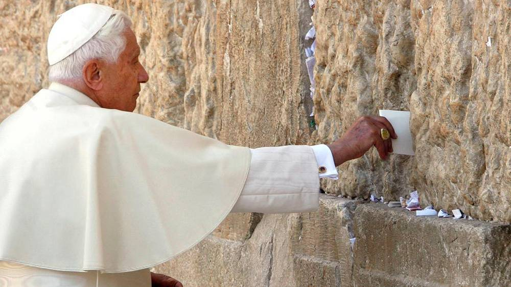 Визит Папы Римского Бенедикта XVI в страны Ближнего Востока