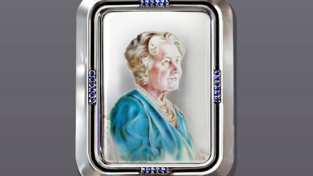 2. Портрет-миниатюра британской королевы-матери. Фото Алексей Максимов/Мила Нестерова/VZgallery