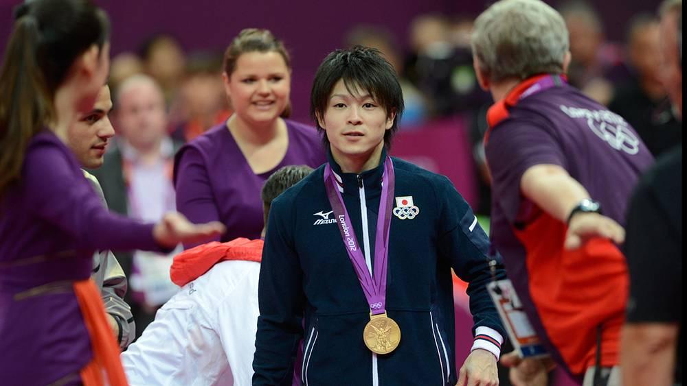 Японец Кохеи Учимура победил в соревнованиях по спортивной гимнастике в многоборье среди мужчин