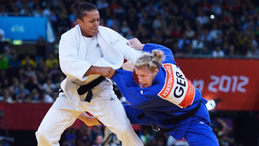 Немка Керстин Тиле выиграла соревнования по дзюдо среди женщин в весовой категории до 70 кг на Олимпиаде в Лондоне