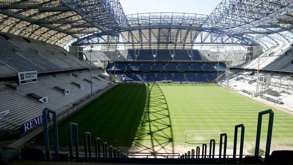 Стадион Евро-2012 в Познани, Польша