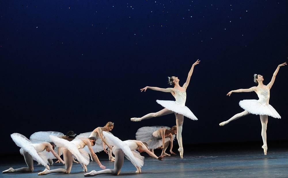 """Сцена из балета """"Бриллианты"""""""