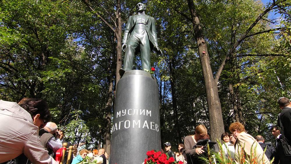 Открытие памятника Муслиму Магомаеву в центре Москвы, 2011 год
