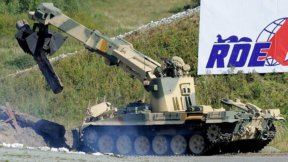 Инженерная машина разграждения ИМР-3М