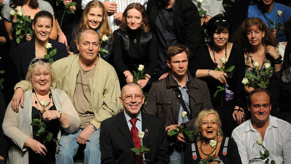Сбор труппы Театра на Таганке, 2011 год