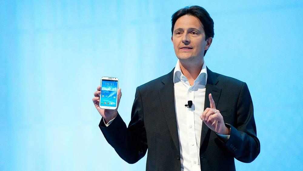 Вице-президент по телеком-бизнесу Samsung Electronics в Европе Жан-Даниэль Айми