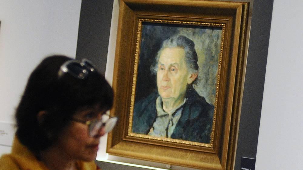 """К. Малевич. """"Портрет матери"""" (1932-1934 гг.)"""