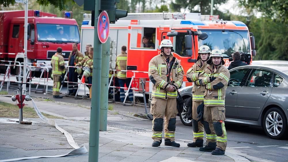 Эвакуация сотрудников посольства США в Берлине