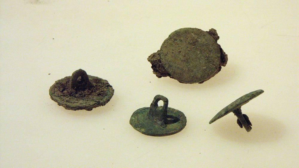 Все те же пуговицы /Фото предоставлены Управлением археологии Цюриха/