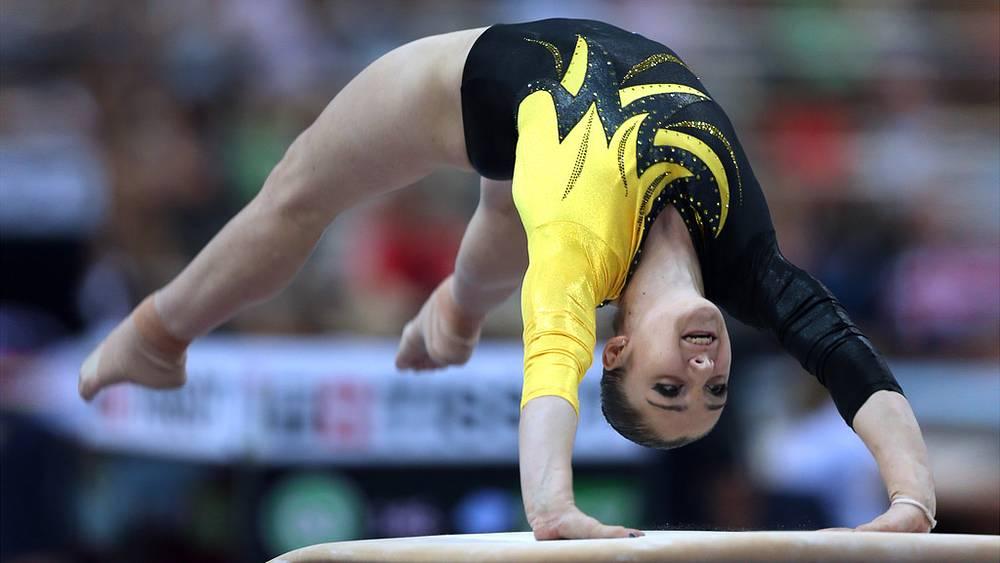 Российская спортсменка Алия Мустафина