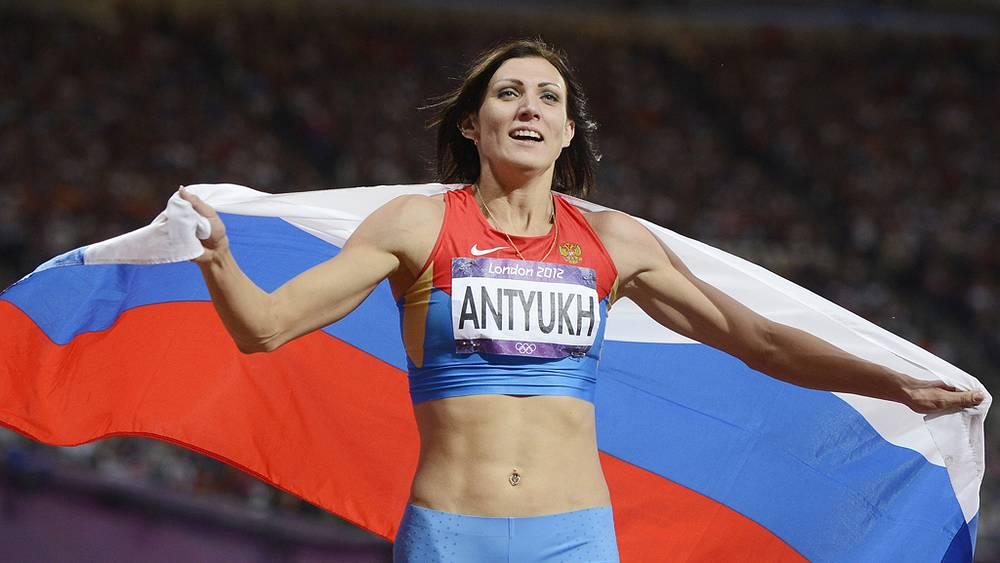 Наталья Антюх - олимпийская чемпионка