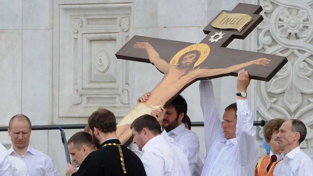 Оскверненный крест из Невинномысска