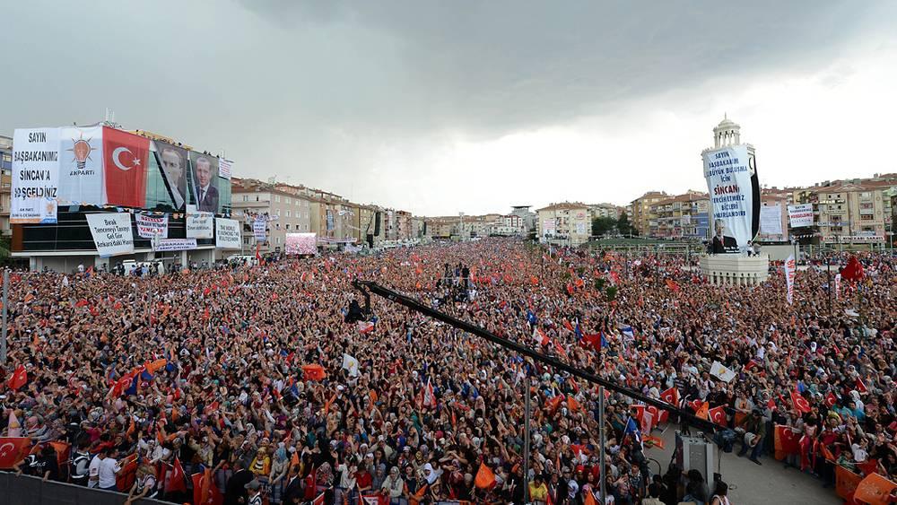 Выступление премьер-министра Тайипа Эрдогана