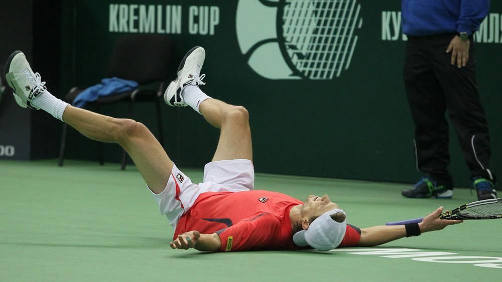Андреас Сеппи одержал победу