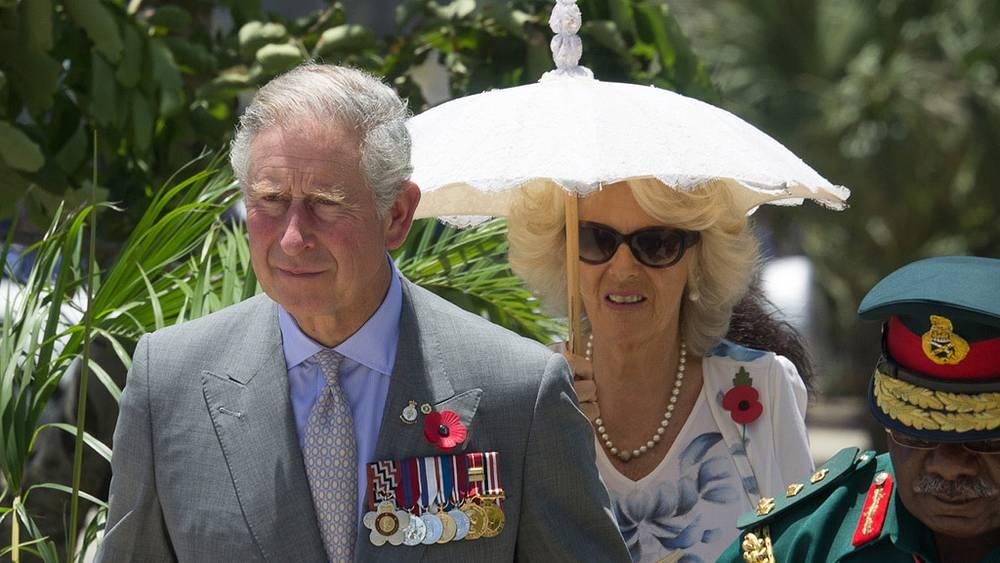Уэльский Чарльз с супругой герцогиней Корнуольской Камиллой