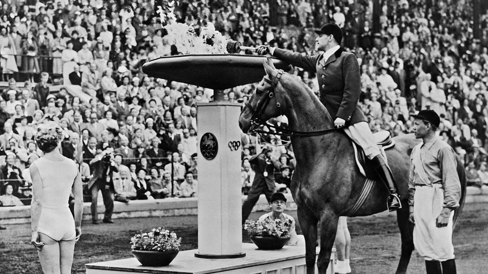 Стокгольм. 1956 год