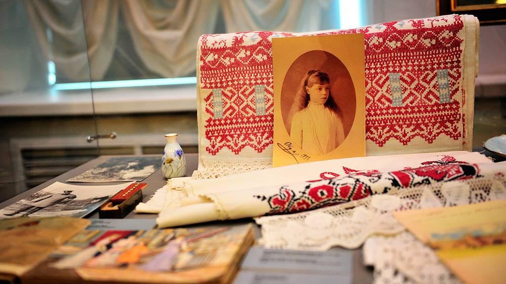 Фотография княгини Ольги Романовой