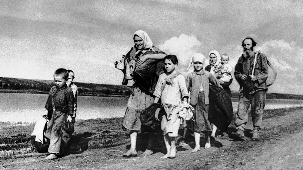 Эвакуация, 1941 год