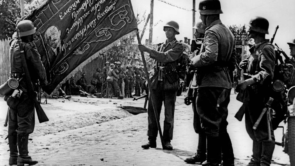 Немецкие солдаты, 1941 год
