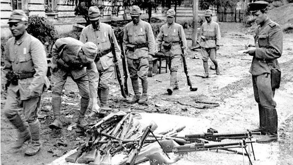 Харбин. 1945. Фото ИТАР-ТАСС