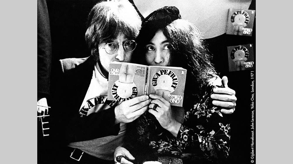 Джон Леннон и Йоко Оно, 1971 г. Фото Гилберт Ханекроот
