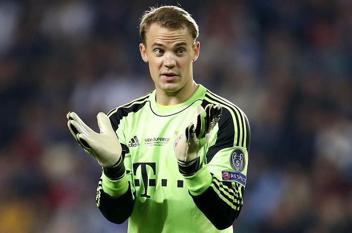 "Мануэль Нойер /""Бавария"", сборная Германии/. AP Photo/Michael Sohn"