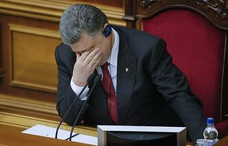 ウクライナの大統領ペトロ・ポロシェンコ