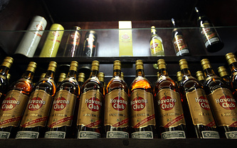 Бутылки с ромом Havana Club