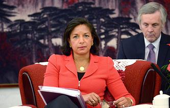 Помощник президента США по национальной безопасности Сюзан Райс