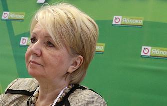 Слабунова: «Яблоко» рассматривает выборы в Госдуму как этап президентской кампании