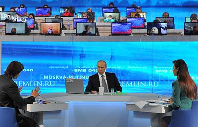 О чем просили Владимира Путина в ходе прямых линий